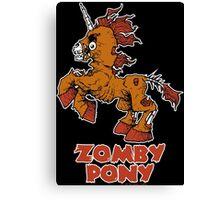 Zomby Pony Canvas Print