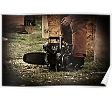 One of the Monster Chainsaws Poster