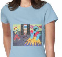 karaoke Womens Fitted T-Shirt