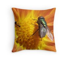To Close For Comfort Throw Pillow
