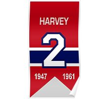 Doug Harvey - retired jersey #2 Poster
