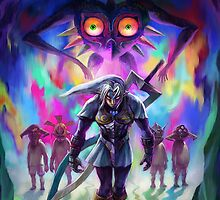 The Legend of Zelda Majora's Mask 3D Artwork #2 by estatheesploso