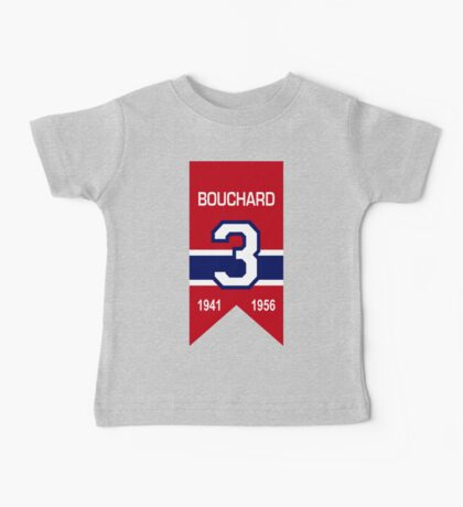 "Emile ""Butch"" Bouchard - retired jersey #3 Baby Tee"