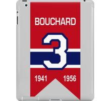 "Emile ""Butch"" Bouchard - retired jersey #3 iPad Case/Skin"