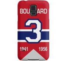 "Emile ""Butch"" Bouchard - retired jersey #3 Samsung Galaxy Case/Skin"