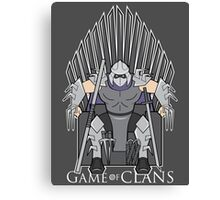 Game of Clans Canvas Print