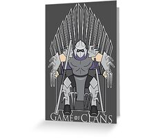 Game of Clans Greeting Card