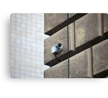 Camera outdoor surveillance Canvas Print