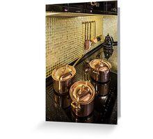 luxury  Interior kitchen  Greeting Card