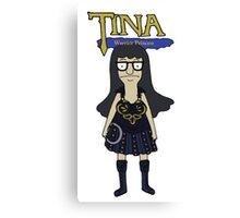 Tina Warrior Princess Canvas Print
