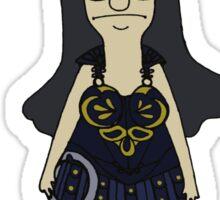 Tina Warrior Princess Sticker