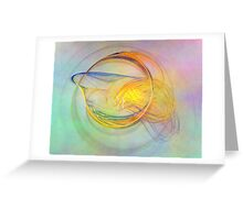 Golden Flame-Available As Art Prints-Mugs,Cases,Duvets,T Shirts,Stickers,etc Greeting Card