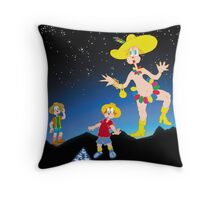Under a Stary night Throw Pillow