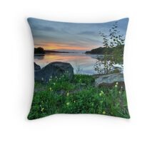 Mabou Sunset Throw Pillow