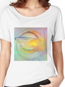 Golden Flame-Available As Art Prints-Mugs,Cases,Duvets,T Shirts,Stickers,etc Women's Relaxed Fit T-Shirt