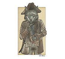 Pirate Wolf Photographic Print
