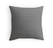 Black and White Pattern Throw Pillow