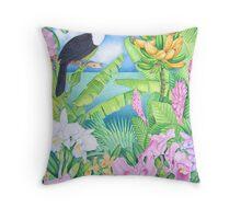 Toucan of the Amazon Throw Pillow