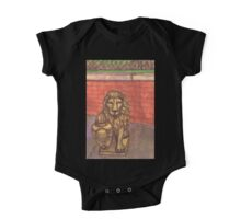 lion in chinatown One Piece - Short Sleeve