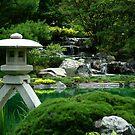 Japanese Garden by Caroline Fournier