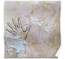 Textural Touch Poster