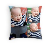 The most wasted of all days is one without laughter. Throw Pillow