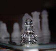 Chess Pieces by Elizabeth  Cortez