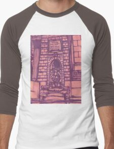 nypl facade Men's Baseball ¾ T-Shirt