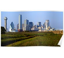 A View from the Trinity River Poster