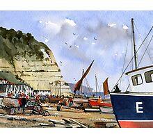 Beer Beach, Devon - Jurassic Coast Photographic Print