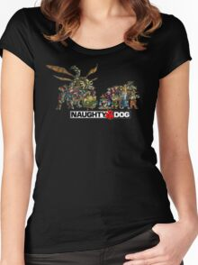 Jak & Daxter Women's Fitted Scoop T-Shirt
