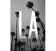 L.A. Palms Photographic Print