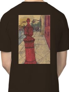red post in bk Classic T-Shirt