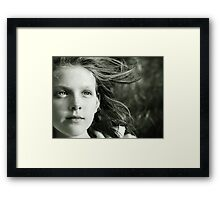 Windswept... Framed Print