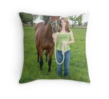 My Two Favorites Throw Pillow