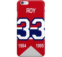 Patrick Roy - retired jersey #33 iPhone Case/Skin