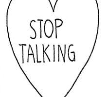 stop talking by Xeph