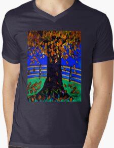 Fall Leaves Mens V-Neck T-Shirt