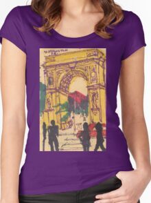 washington square Women's Fitted Scoop T-Shirt