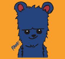 Bear! Blue by Eltee