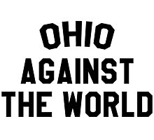 Ohio against the world - b&w Photographic Print