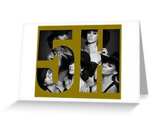 Fifth Harmony 5H Reflection Greeting Card