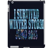 I Survived Winter Storm Juno 2015 iPad Case/Skin