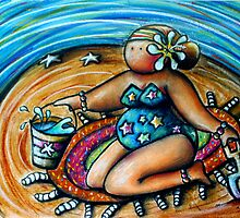 Bucket and Spade Maiden by © Karin Taylor
