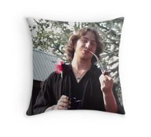 A Man's Pipe Throw Pillow