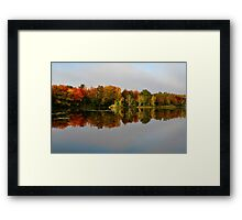 Reflective Waters Framed Print