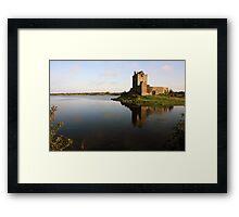 Dungaire castle view 2 Framed Print