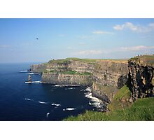 Cliffs of Moher view 1 Photographic Print