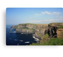 Cliffs of Moher view 2 Canvas Print
