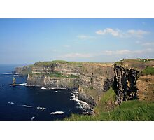 Cliffs of Moher view 2 Photographic Print